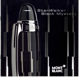 stylo mont blanc starwalker black mystery